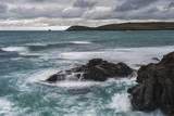 Trevose Head, Seen from Constantine Bay, Cornwall, England, United Kingdom, Europe Photographic Print by  Matthew