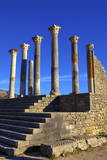Excavated Roman City, Volubilis, UNESCO World Heritage Site, Morocco, North Africa, Africa Photographic Print by  Neil