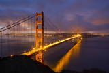 Golden Gate Bridge at Dawn, San Francisco, California, United States of America, North America Photographic Print by  Stuart