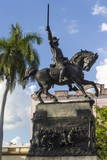 Ignacio Agramonte Statue, Camaguey, Cuba, West Indies, Caribbean, Central America Photographic Print by  Rolf