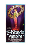 The Blonde Vampire Art