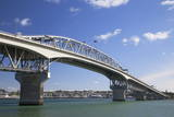 Auckland Harbour Bridge, Auckland, North Island, New Zealand, Pacific Photographic Print by  Ian