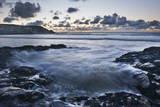 Rocky Coast at Treyarnon Bay at Sunset, Cornwall, England, United Kingdom, Europe Photographic Print by  Matthew