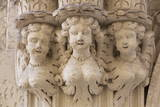 Statue of Angels Outside a Church in the Baroque City of Lecce, Puglia, Italy, Europe Photographic Print by  Martin