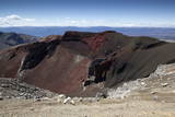 Red Crater Along the Tongariro Alpine Crossing Photographic Print by  Stuart