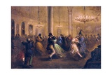 The Dance of Chaplains Prints by Eduardo Balaca Y Canseco