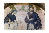 Jesus Christ and Virgin Mary, Kahriye Camii (Chora Church) Posters