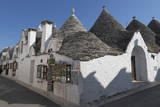Street of Of Traditional Trullos (Trulli) in Alberobello Photographic Print by  Martin