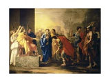Noble Deed of Scipio Posters by Nicolas Poussin