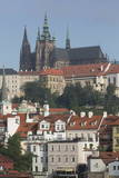 Castle District with St. Vitus Cathedral Photographic Print by  Angelo