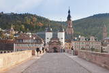 Karl Theodor Bridge with Stadttor Gate and Heilig Geist Church Photographic Print by  Markus