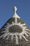 Sun Painted on Roof of Traditional Trullo in Alberobello Photographic Print by  Martin