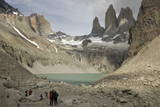 Torres Del Paine Photographic Print by  Tony