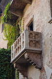 Juliet's House and Juliet's Balcony, Verona, UNESCO World Heritage Site, Veneto, Italy, Europe Photographic Print by Nico Tondini