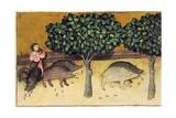 Acorns That Strengthen the Retentive Prints by Ibn Butlan Abu-l Hasan al-Mujtar