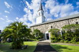 Mokuaikaua Church, Kailua-Kona, Big Island, Hawaii, United States of America, Pacific Photographic Print by  Michael