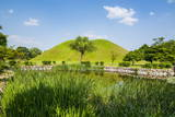 Tumuli Park with its Tombs from the Shilla Monarchs Photographic Print by  Michael