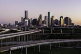 City Skyline and Interstate, Houston, Texas, United States of America, North America Photographic Print by  Gavin