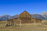Mormon Row Barn Photographic Print by  Eleanor