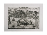 Algiers, the City and the Harbor Print
