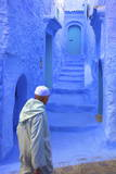 Neil - Chefchaouen, Morocco, North Africa, Africa Fotografická reprodukce