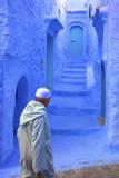 Chefchaouen, Morocco, North Africa, Africa Fotografie-Druck von  Neil