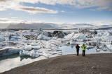 Jokulsarlon Glacier Lagoon, Iceland, Polar Regions Photographic Print by  Michael