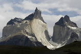 Los Cuernos Del Paine, Torres Del Paine National Park, Patagonia, Chile, South America Photographic Print by  Tony