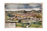 View of Montpellier Giclee Print by Abraham Ortelius