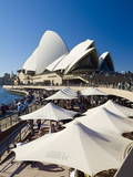 Sydney Opera House, UNESCO World Heritage Site, Sydney, New South Wales, Australia Photographic Print by Mark Mawson