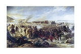 Battle of Tetouan, Spanish Vs. Moroccan troops Prints by Vicente Palmaroli Gonzalez