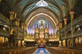 Notre-Dame Basilica Interior Photo