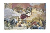 Allegory of Europe Prints by Giovanni Battista Tiepolo