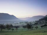 Early Morning Fog, Filstal Valley, Swabian Alb, Baden Wurttemberg, Germany, Europe Photographic Print by Markus Lange