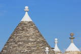 Roof of Traditional Trullos (Trulli) in Alberobello Photographic Print by  Martin