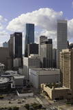 Downtown City Skyline, Houston, Texas, United States of America, North America Photographic Print by  Gavin
