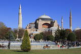 Haghia Sophia, UNESCO World Heritage Site, Sultanahmet District, Istanbul, Turkey, Europe Photographic Print by  Richard