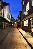 The Shambles at Dusk, York, Yorkshire, England, United Kingdom, Europe Photographic Print by  Mark