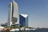 Emirates Nbd and Dubai Chamber of Commerce Buildings Photographic Print by  Matt