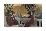 Breton Women Posters by Maurice Denis