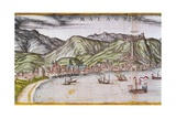 View of Malaga Giclee Print by Abraham Ortelius