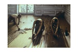 The Floor Scrapers Giclee Print by Gustave Caillebotte