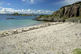 Beach Opposite Islet of Eilean a Ghaill Photographic Print by  Duncan