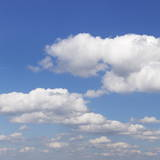 Cumulus Clouds, Blue Sky, Summer, Germany, Europe Photographic Print by Markus Lange