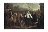 Execution of Louis XVI on 21st January 1793 Print by Charles Benazech