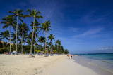 Beach of Bavaro, Punta Cana, Dominican Republic, West Indies, Caribbean, Central America Photographic Print by  Michael