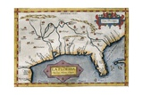 Map of Florida Prints by Abraham Ortelius