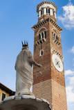 Torre Dei Lamberti Photographic Print by  Nico