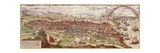 View of Barcelona Print by Abraham Ortelius