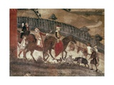 Good Government-Countryside Giclee Print by Ambrogio Lorenzetti